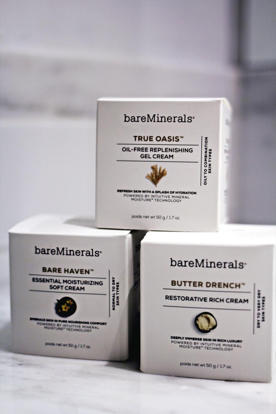 true oasis bare minerals produkte