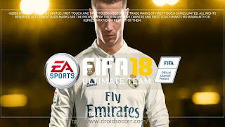 FTS MOD FIFA 18 ULTIMATE By Iqbal Apk + Data Obb