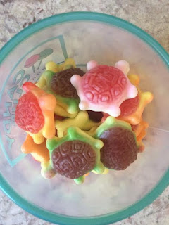 gummy filled seat turtles from candyclub
