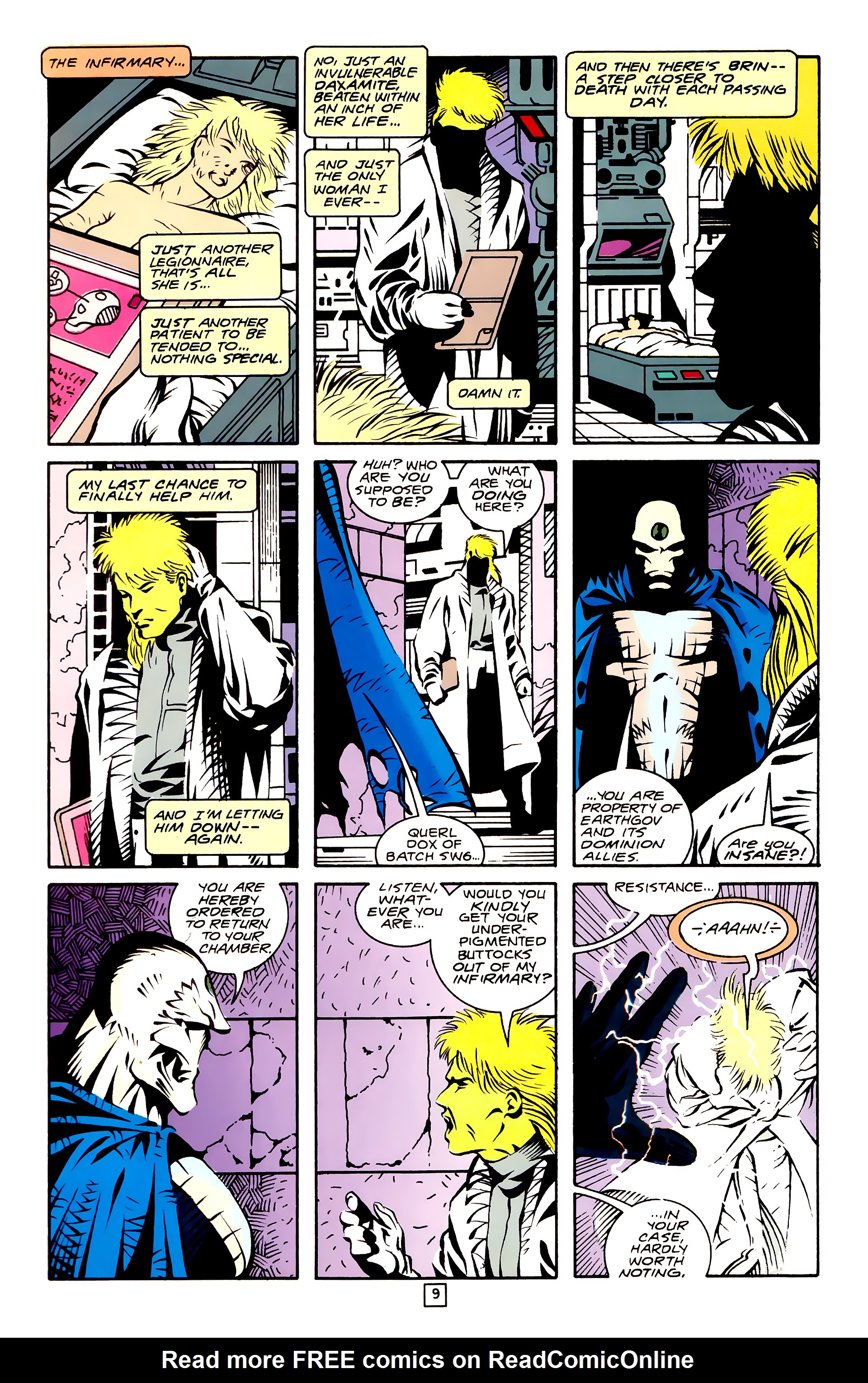 Legion of Super-Heroes (1989) 27 Page 9