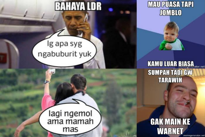 Meme Ramadhan Lucu