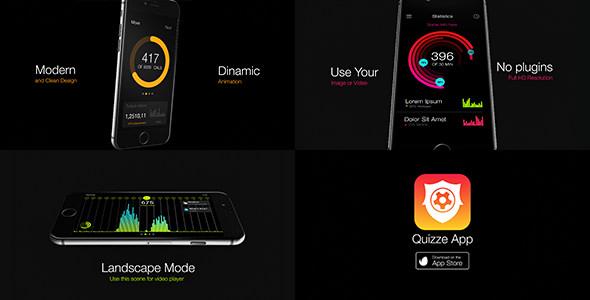 مشروع عرض تطبيق الجوال على الأيفون للافتر افكت CS5.5 فأعلى
