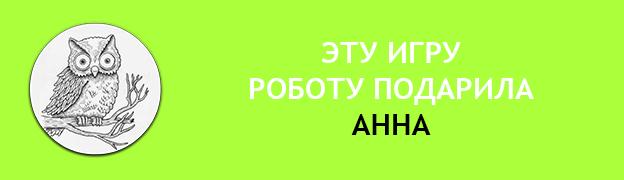 Подарочная плашка АННА аватар сова Подарок для Робота Роботу подарили