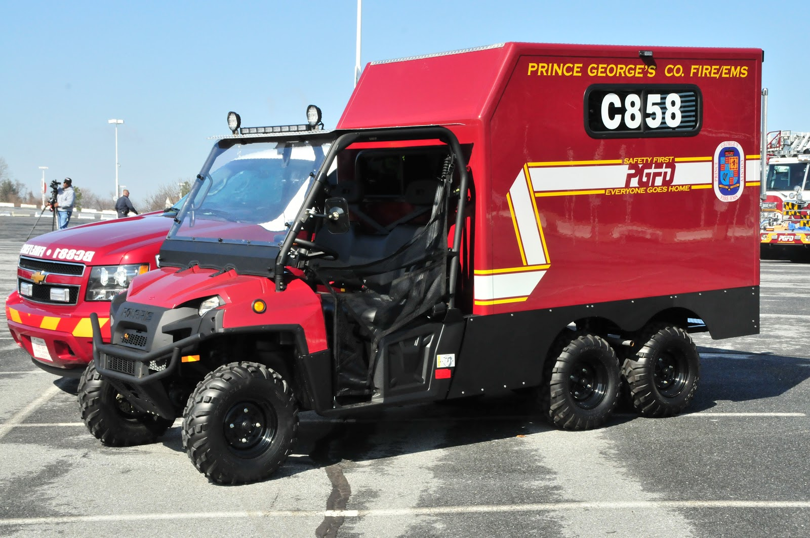 Gator Truck Center >> Prince George S County Fire Ems Department Mar 27 2013