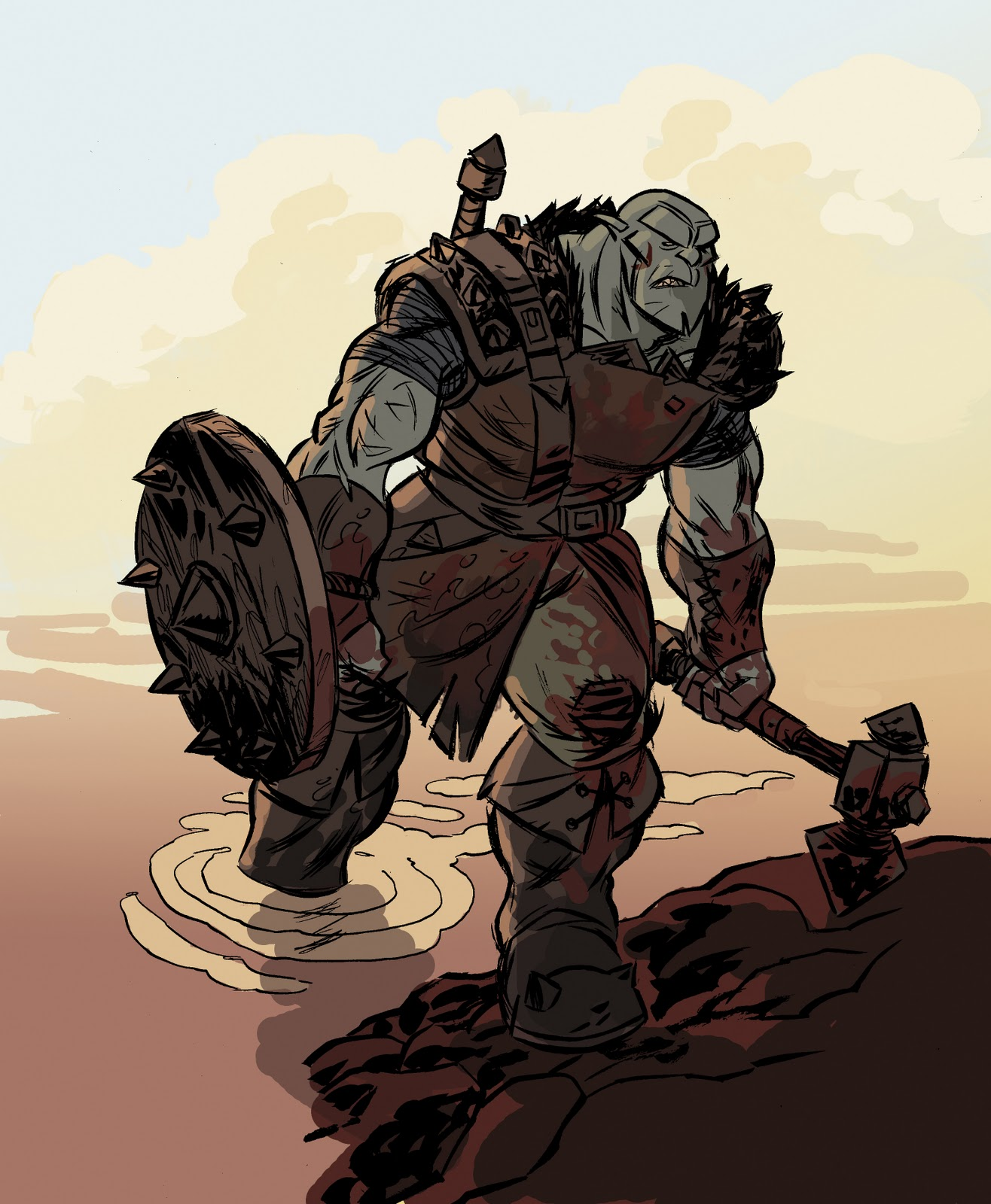 Orcs Sketchbook: Berserker