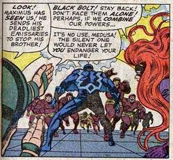 Fantastic Four 47-Inhumans-Black Bolt-Medusa