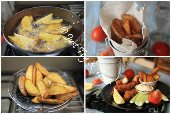 Resep Super Crispy Fish and Chips a la JTT