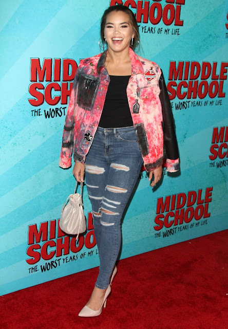 Paris Berelc – 'Middle School: The Worst Years of My Life' Premiere in Los Angeles