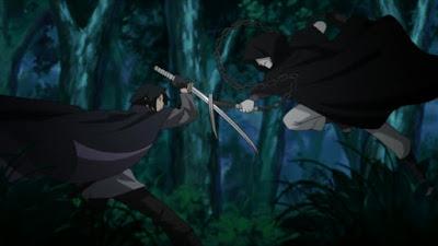 Sasuke vs Masked Man