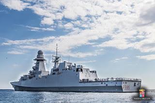 φρεγάτα του Ιταλικού Πολεμικού Ναυτικού
