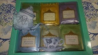 フォートナム&メイソンの紅茶ギフトセット写真