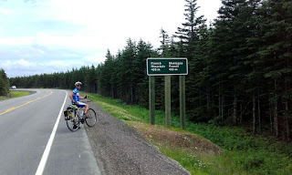 Great Climbs cycling Canada's Cabot Trail in Cape Breton