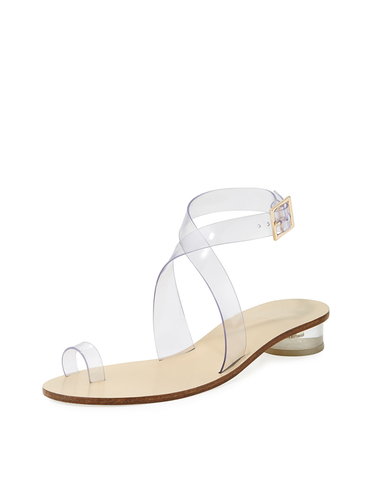 Clear Shoe Trend Sandal