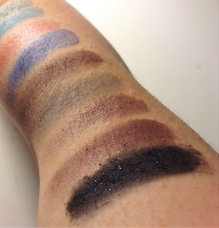 e.l.f. Artistry Eyeshadow Palette swatches