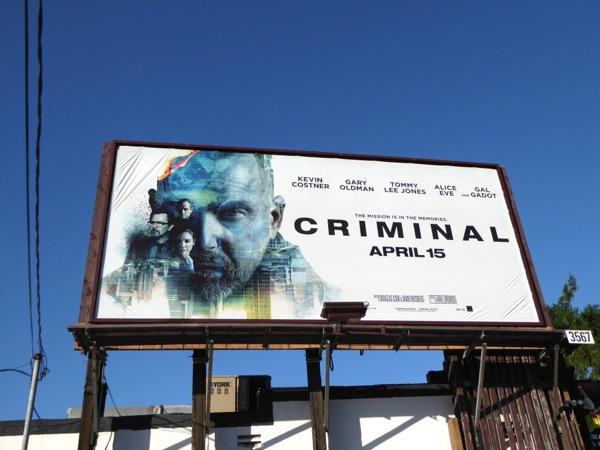 Criminal movie billboard