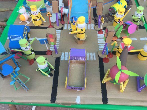 Hội thi làm đồ dùng đồ chơi sáng tạo chủ điểm thực vật