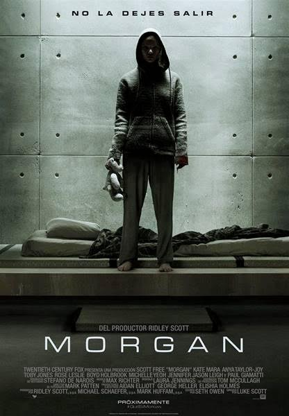 Póster y tráiler español de 'Morgan' con Kate Mara
