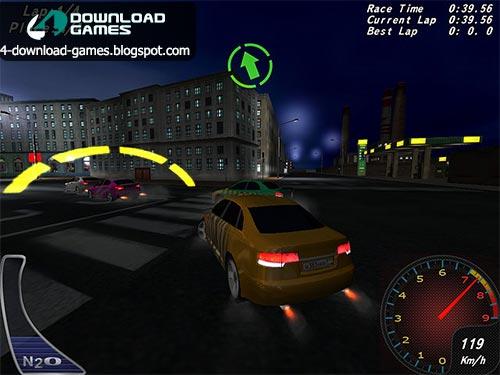 لعبة سباقات السيارات نايت ستريت راسينج مجانا