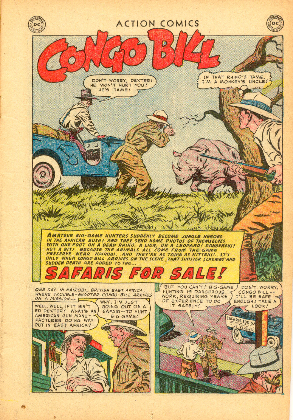 Read online Action Comics (1938) comic -  Issue #174 - 17