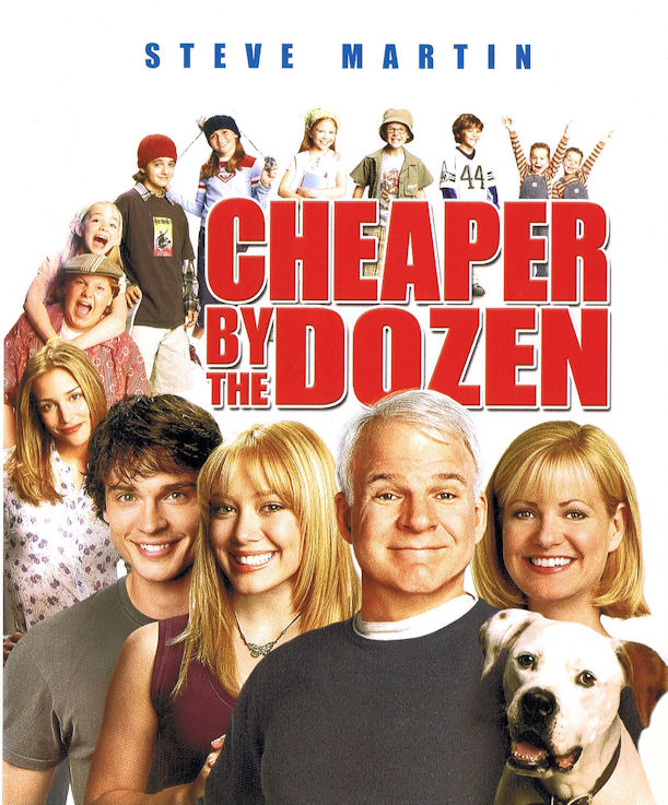 Waiching S Movie Thoughts More Retro Review Cheaper By The Dozen 2003