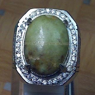 Cincin Batu Giok Sojol Maluku - ZP 835