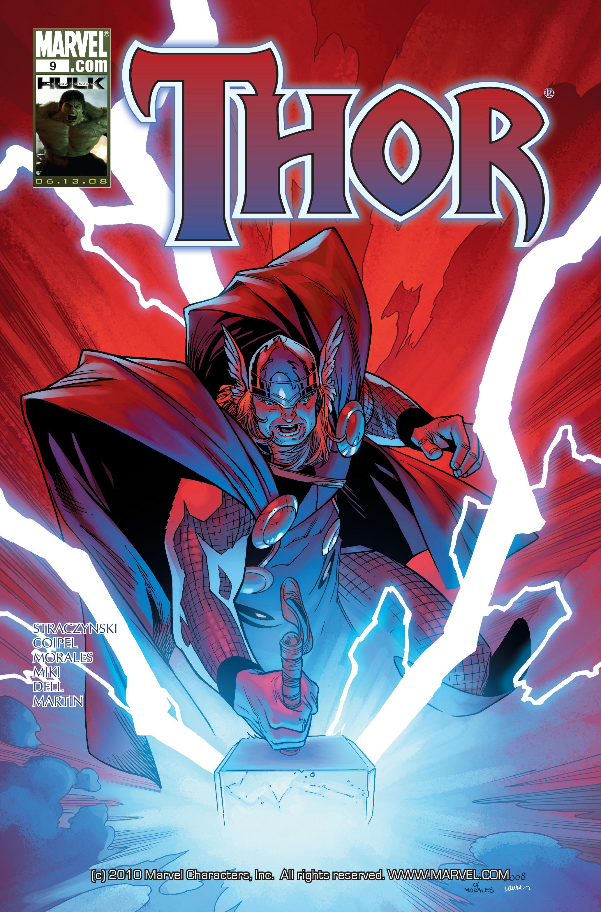 Thor (2007) Issue #9 #9 - English 1
