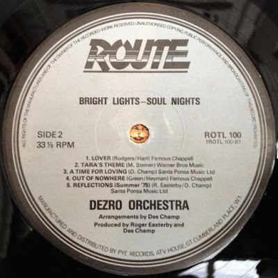 The Dezro Orchestra - Reflections / Witchunt