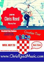 Chris Reed, koncert u Boleru, Bol slike otok Brač Online