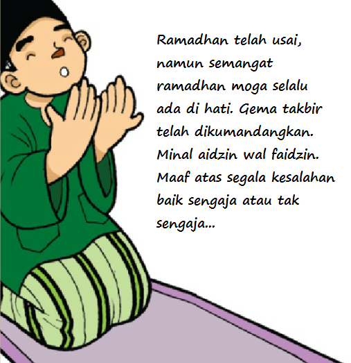 DP BBM Ucapan Selamat Idul Fitri Lebaran 2015