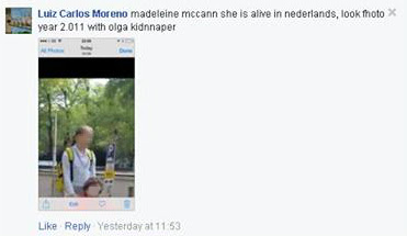Man responsible for hoax sightings of Madeleine, is a McCann family friend.  Moreno%2Bpost%2Bchild%2Band%2Bwoman%2Bin%2Bwheelchair