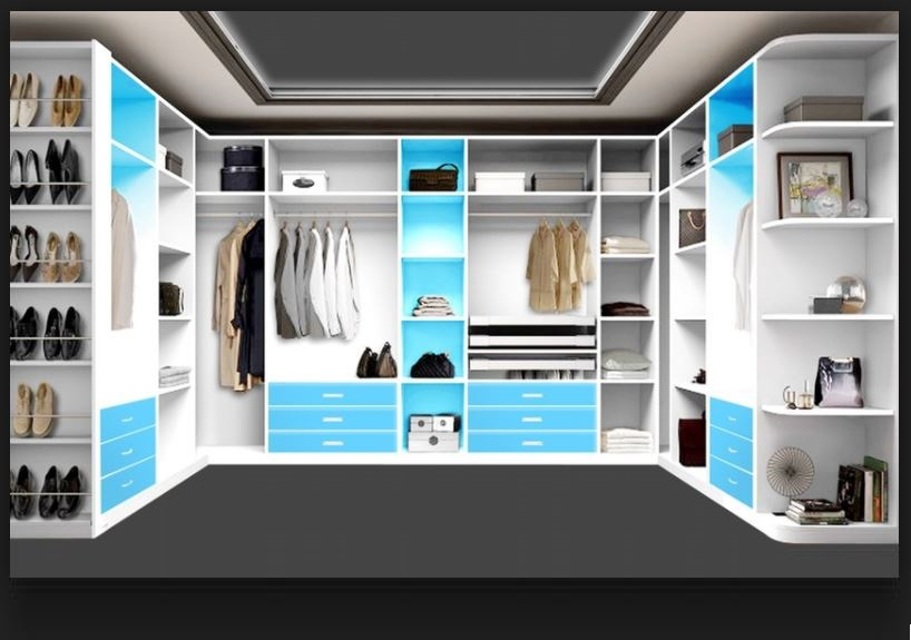 Attractive Dressing Room Design Ideas Part - 6: Ultra Modern Dressing Room Design Ideas 2018