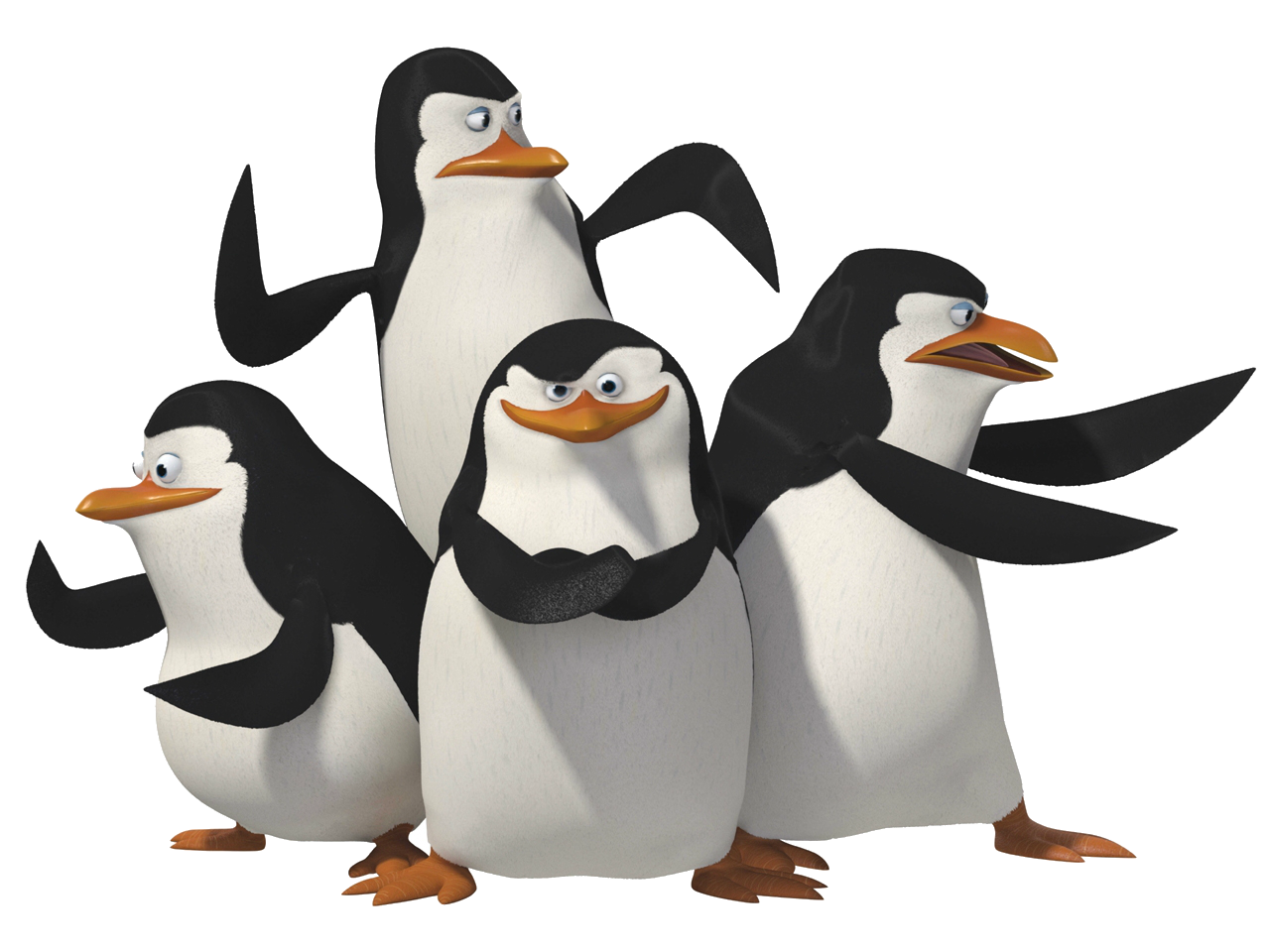 Cartoon Characters: The Penguins of Madagascar