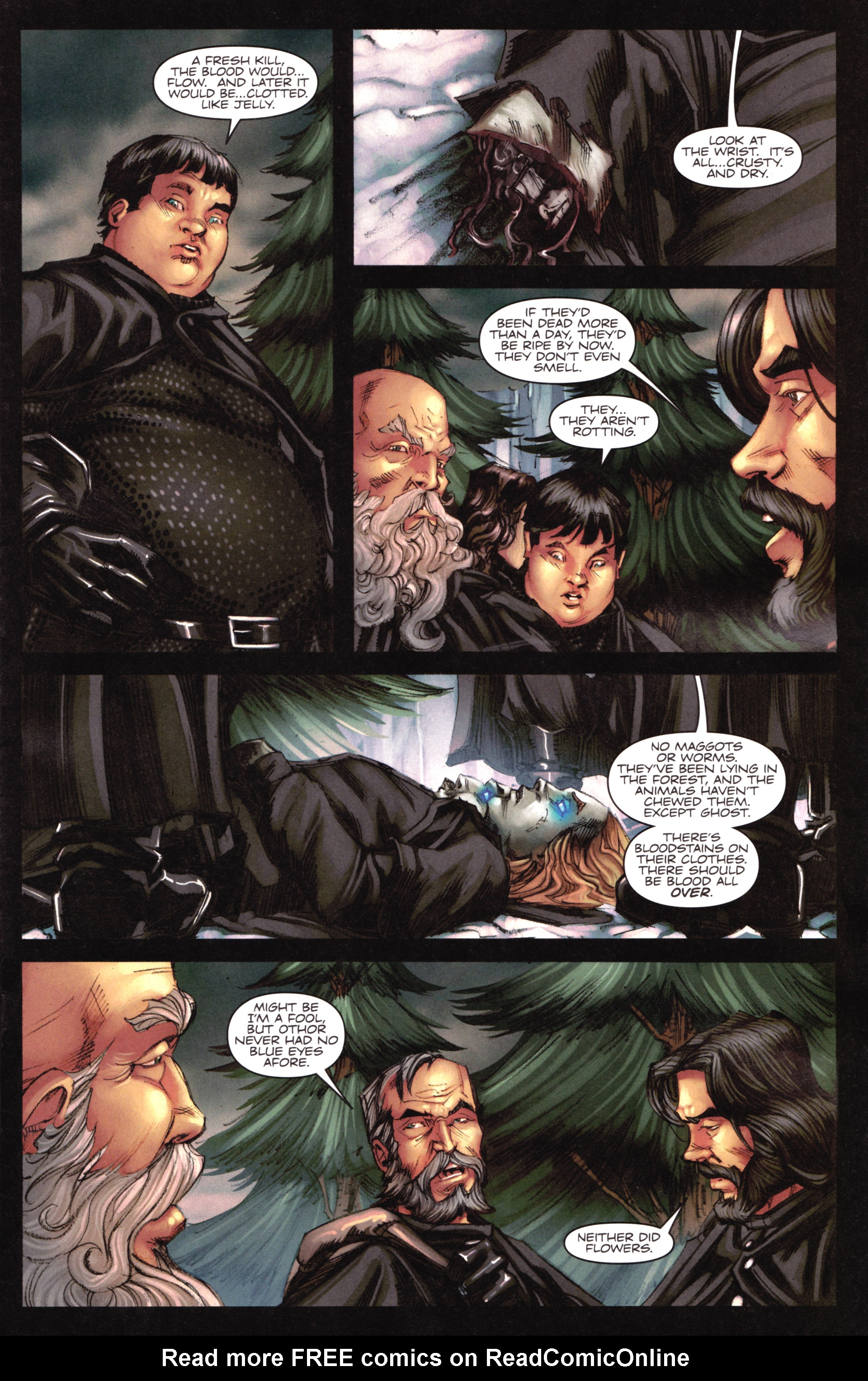 Read online A Game Of Thrones comic -  Issue #17 - 5