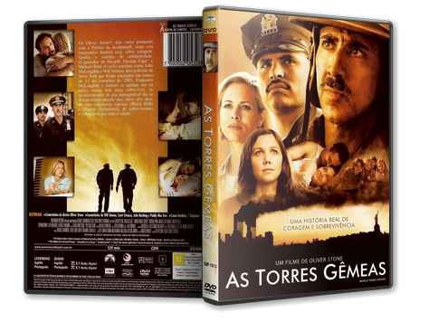 Capa DVD As Torres Gêmeas