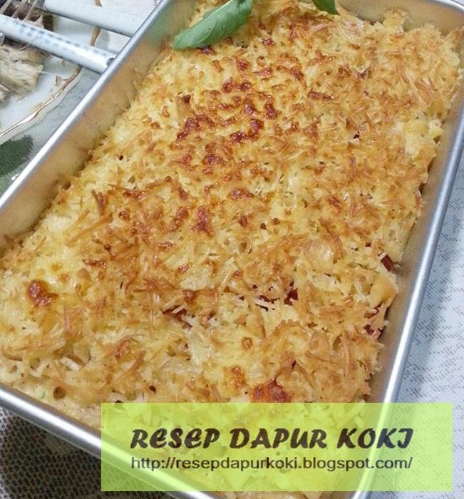 resep macaroni schotel,macaroni schotel panggang,cara membuat macaroni schotel