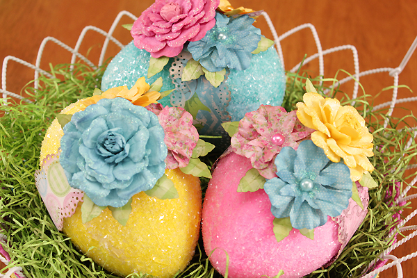 BoBunny Easter Eggs Tutorial by Juliana Michaels