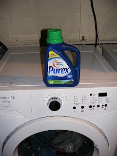 Purex on my washer