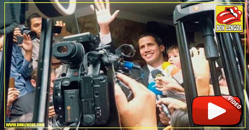 Juan Guaidó llegó a su casa e informa que su familia no ha sido secuestrada aún por el FAES