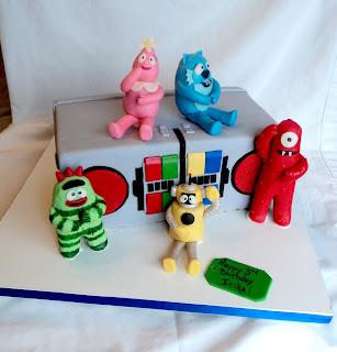 Delectable Cakes Yo Gabba Gabba Birthday Cake
