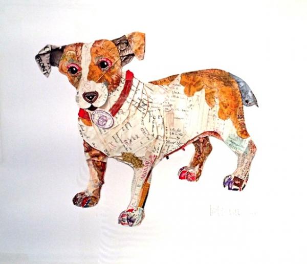 Adorable Dog Collage Art
