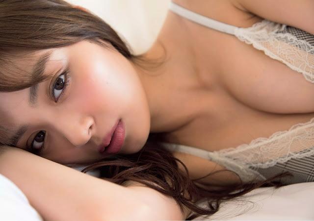 Uchida Rio 内田理央 Weekly Playboy August 2016 Wallpaper HD