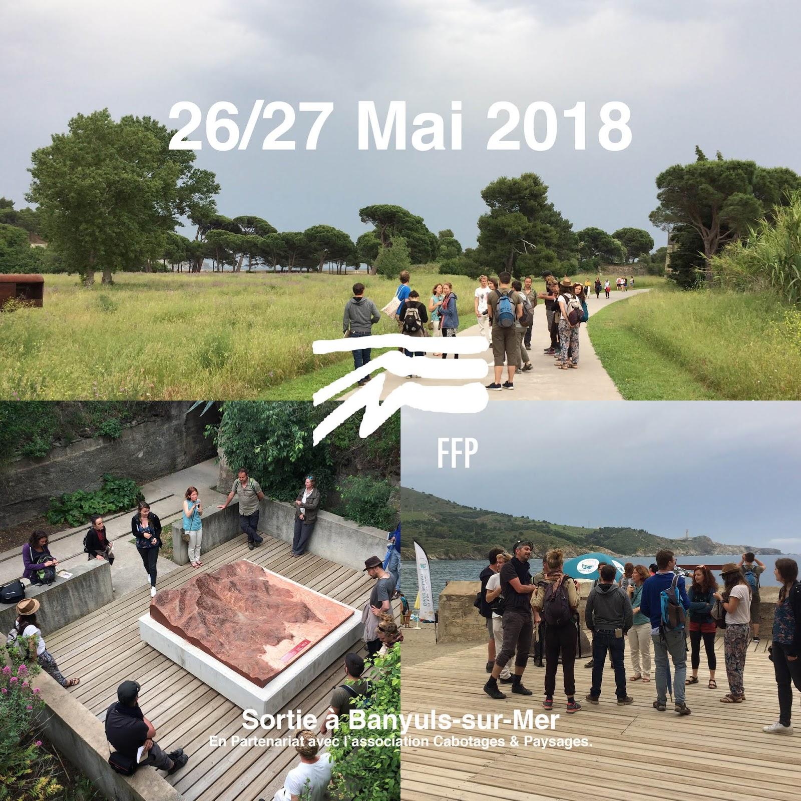 Architecte Paysagiste Midi Pyrénées ffp: 26-27 mai 2018 sortie paysage À banyuls sur mer
