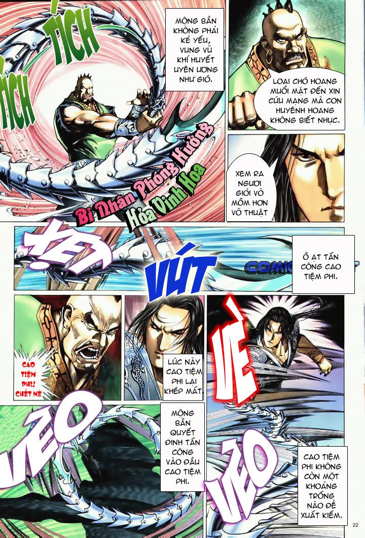 Anh hùng vô lệ Chap 10 trang 19