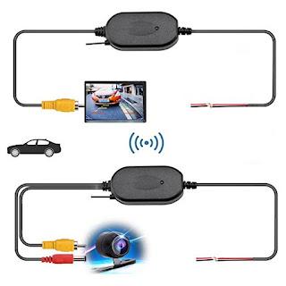 kit trasmettitore wireless telecamera