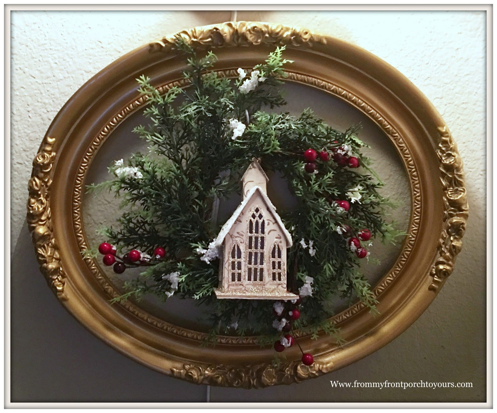 From My Front Porch To Yours Farmhouse Christmas Decorations 2017