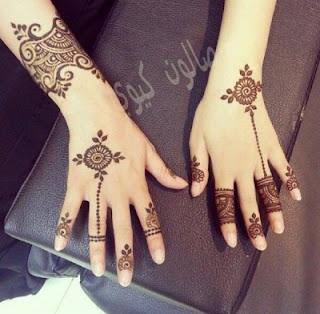 Bridal Mehndi designs for fingers
