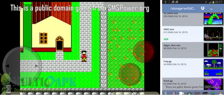 Download Game Emulator MasterGear - SMS/GG Emulator Paid Apk v4.0 Terbaru