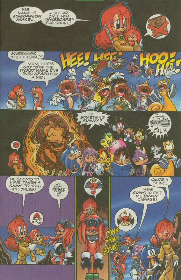 Read online Sonic The Hedgehog comic -  Issue #140 - 4