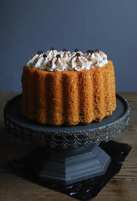 Chiffon cake de café irlandés - Dulces bocados