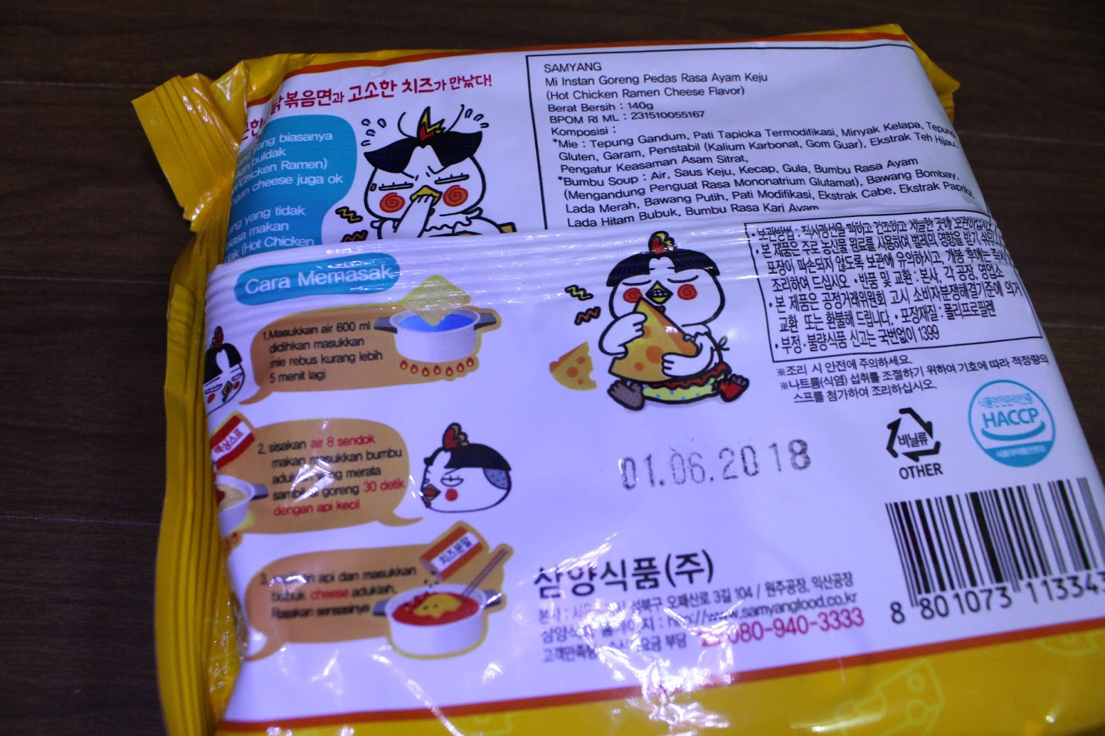 Review By Ratnaliem 2017 Dapat 3 Samyang Chese Ramen 140 Gr Mengeluarkan Lumayan Banyak Pilihan Hot Chicken Cool Stew Cheese Dan Mala